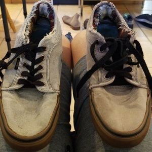 Everything's worked out on these Vans except sole